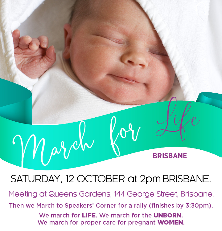 March for Life Brisbane 2019 12 October